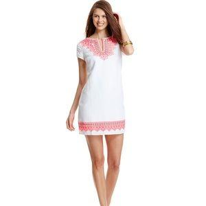Vineyard Vines Island Embroidered Tunic Dress